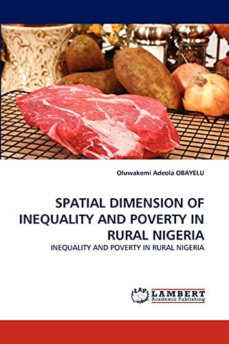 9783843363419: SPATIAL DIMENSION OF INEQUALITY AND POVERTY IN RURAL NIGERIA: INEQUALITY AND POVERTY IN RURAL NIGERIA