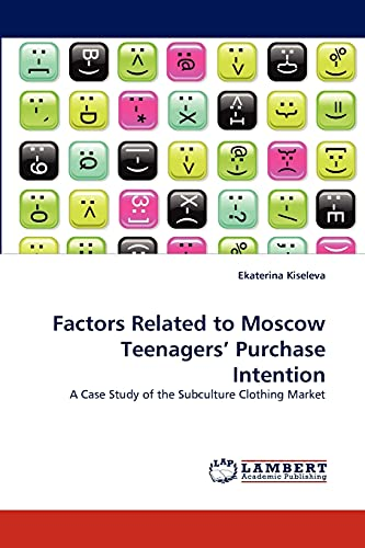 Factors Related to Moscow Teenagers Purchase Intention: Ekaterina Kiseleva