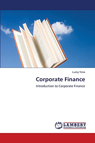 9783843368537: Corporate Finance: Introduction to Corporate Finance