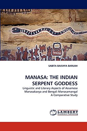 9783843369039: MANASA: THE INDIAN SERPENT GODDESS