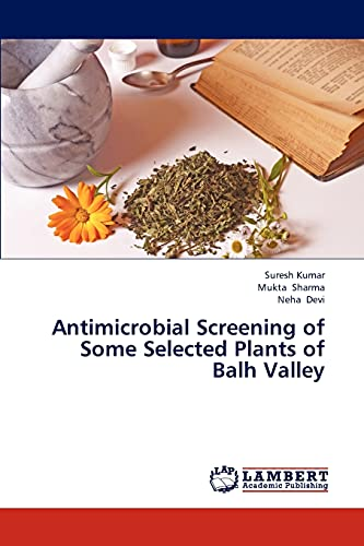 Antimicrobial Screening of Some Selected Plants of Balh Valley: Suresh Kumar