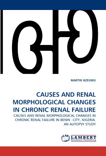 9783843373555: CAUSES AND RENAL MORPHOLOGICAL CHANGES IN CHRONIC RENAL FAILURE: CAUSES AND RENAL MORPHOLOGICAL CHANGES IN CHRONIC RENAL FAILURE IN BENIN ?CITY, NIGERIA. AN AUTOPSY STUDY