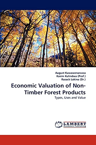 9783843373623: Economic Valuation of Non-Timber Forest Products: Types, Uses and Value