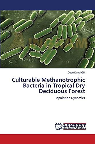 9783843380546: Culturable Methanotrophic Bacteria in Tropical Dry Deciduous Forest: Population Dynamics