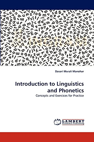 9783843386111: Introduction to Linguistics and Phonetics
