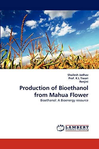 Production of Bioethanol from Mahua Flower: Shailesh Jadhav; Prof