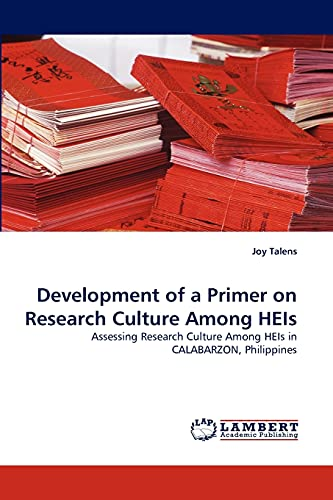 Development of a Primer on Research Culture Among Heis: Joy Talens