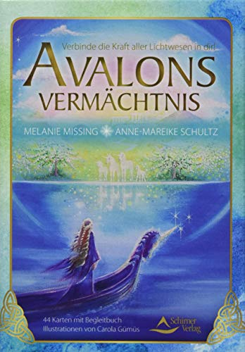 9783843490580: Avalons Vermächtnis: Verbinde die Kraft aller Lichtwesen in dir - 44 Karten mit Begleitbuch