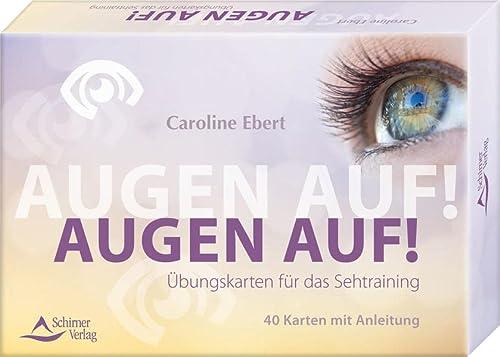 Kartenset: Augen auf! : Übungskarten für das Sehtraining - Kartenset, 40 Karten mit ...