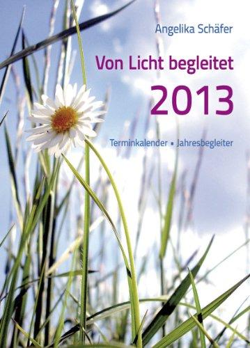 9783843499118: Von Licht begleitet - Terminkalender, Jahresbegleiter 2013