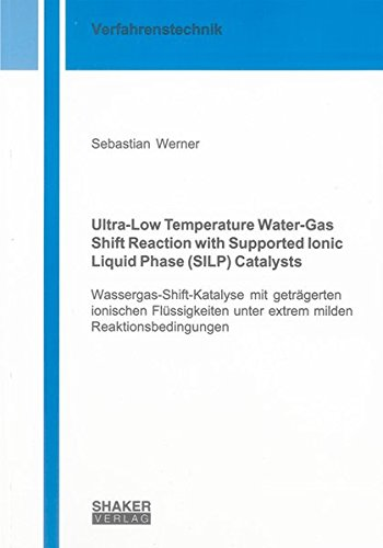 Ultra-Low Temperature Water-Gas Shift Reaction with Supported Ionic Liquid Phase (SILP) Catalysts: ...