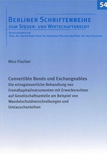 Convertible Bonds und Exchangeables: Nico Fischer