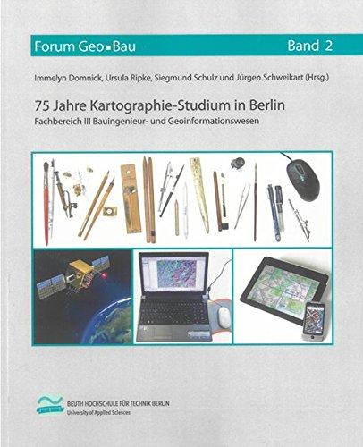 9783844000757: 75 Jahre Kartographie-Studium in Berlin