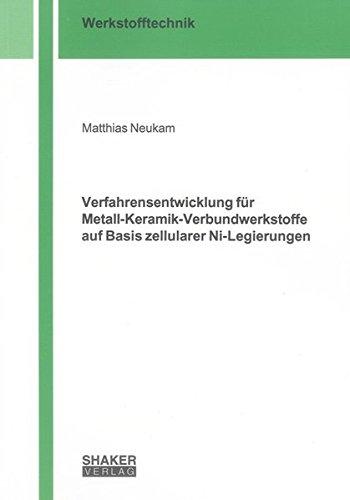Verfahrensentwicklung für Metall-Keramik-Verbundwerkstoffe auf Basis zellularer Ni-Legierungen...