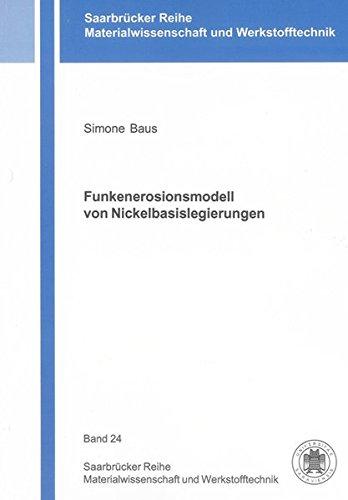 Funkenerosionsmodell von Nickelbasislegierungen: Simone Baus