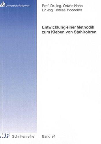 Entwicklung einer Methodik zum Kleben von Stahlrohren: Tobias Böddeker