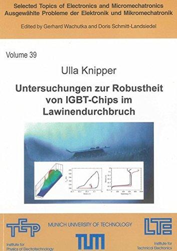 Untersuchungen zur Robustheit von IGBT-Chips im Lawinendurchbruch: Ulla Knipper