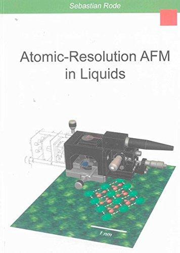 9783844004854: Atomic-Resolution AFM in Liquids (Berichte aus der Physik)
