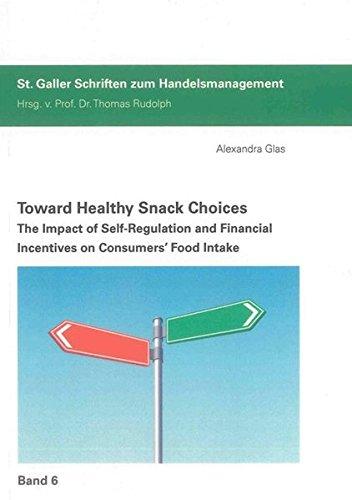 Toward Healthy Snack Choices: Alexandra Christine Leny Glas