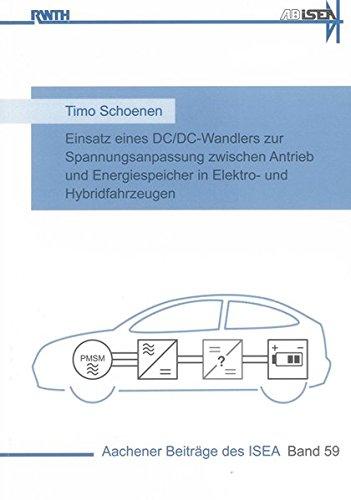 Einsatz eines DC/DC-Wandlers zur Spannungsanpassung zwischen Antrieb und Energiespeicher in ...