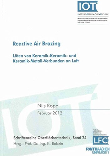 Reactive Air Brazing: Nils Kopp