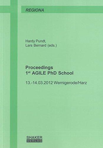 Proceedings 1st AGILE PhD School: Hardy Pundt