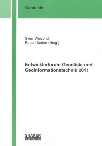 Entwicklerforum Geodäsie und Geoinformationstechnik 2011: Sven Weisbrich