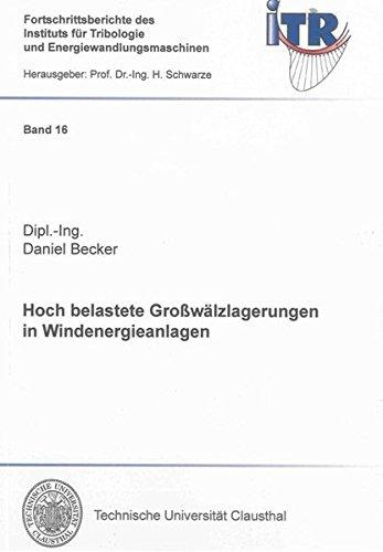Hoch belastete Großwälzlagerungen in Windenergieanlagen: Daniel Becker