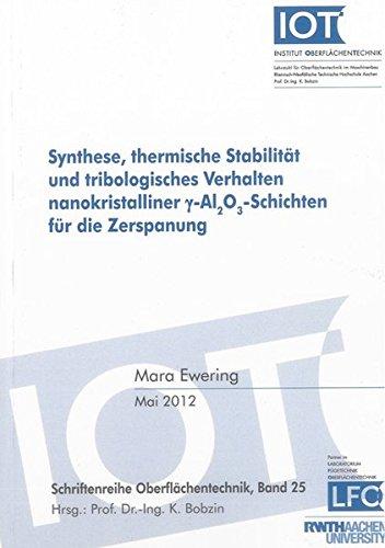 Synthese, thermische Stabilität und tribologisches Verhalten nanokristalliner gamma-Al2O3-...