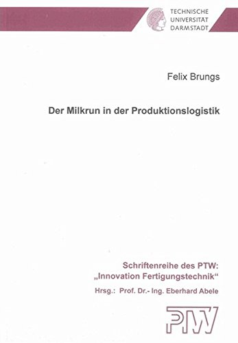 Der Milkrun in der Produktionslogistik: Felix Brungs
