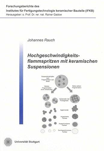 Hochgeschwindigkeitsflammspritzen mit keramischen Suspensionen: Johannes Rauch