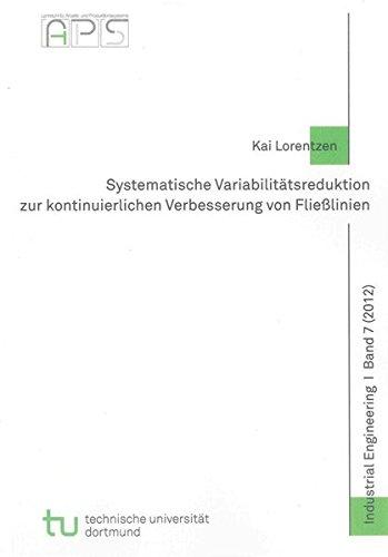 9783844012439: Systematische Variabilit�tsreduktion zur kontinuierlichen Verbesserung von Flie�linien