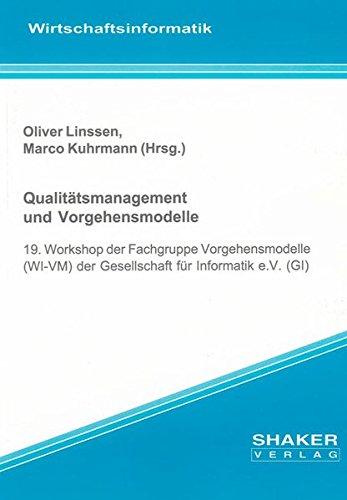 Qualitätsmanagement und Vorgehensmodelle: Oliver Linssen