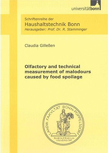Olfactory and technical measurement of malodours caused by food spoilage: Claudia Gille�en