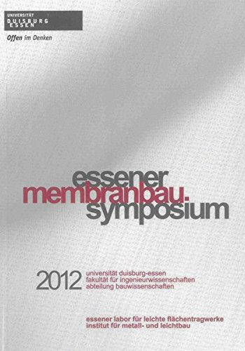 Essener Membranbau Symposium 2012: Klaus Saxe