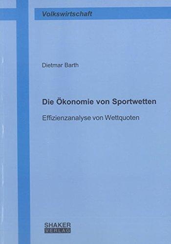 Die Ökonomie von Sportwetten: Dietmar Barth