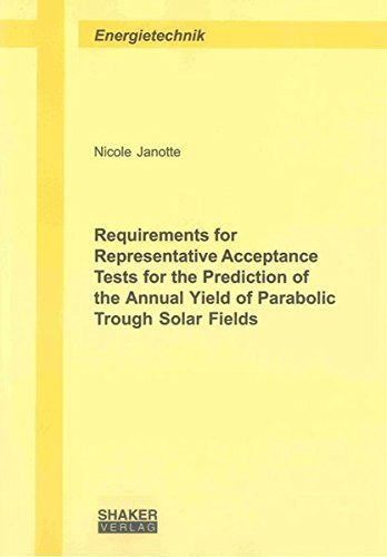 Requirements for Representative Acceptance Tests for the Prediction of the Annual Yield of ...