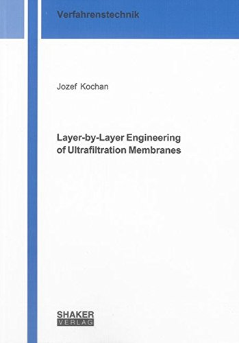 Layer-by-Layer Engineering of Ultrafiltration Membranes: Jozef Kochan
