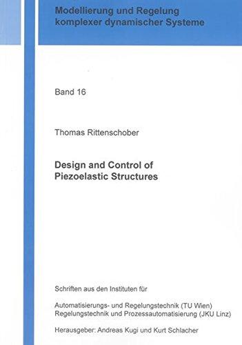 Design and Control of Piezoelastic Structures: Thomas Rittenschober