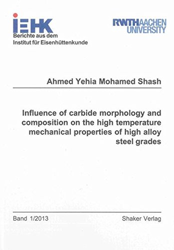 Influence of carbide morphology and composition on the high temperature mechanical properties of ...