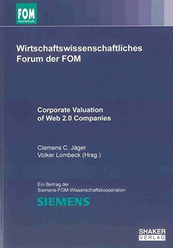 Corporate Valuation of Web 2.0 Companies: Clemens C. Jäger