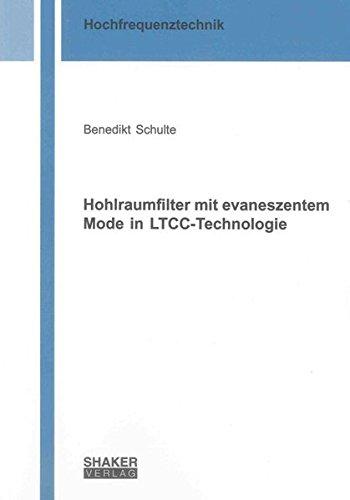 9783844018264: Hohlraumfilter mit evaneszentem Mode in LTCC-Technologie