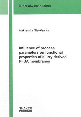 Influence of process parameters on functional properties of slurry derived PFSA membranes: ...