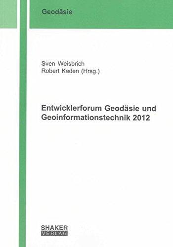 Entwicklerforum Geodäsie und Geoinformationstechnik 2012: Sven Weisbrich