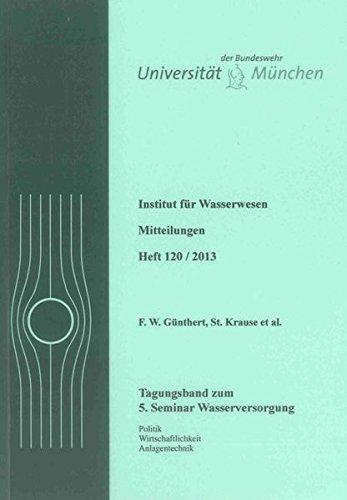 5. Seminar Wasserversorgung: F. W. Günthert