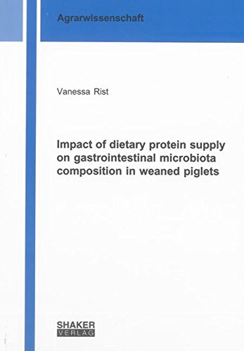 Impact of dietary protein supply on gastrointestinal microbiota composition in weaned piglets: ...