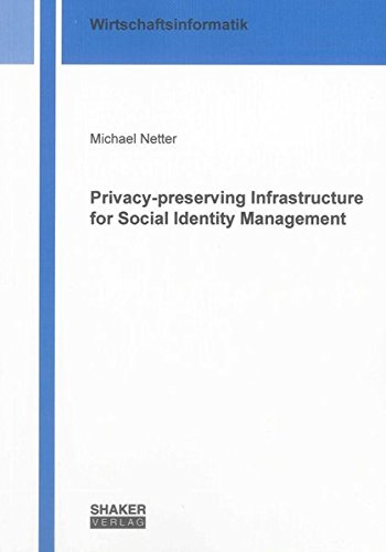 Privacy-preserving Infrastructure for Social Identity Management: Michael Netter