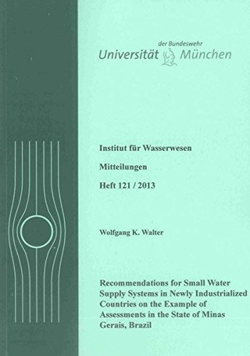 Recommendations for Small Water Supply Systems in Newly Industrialized Countries on the Example of ...