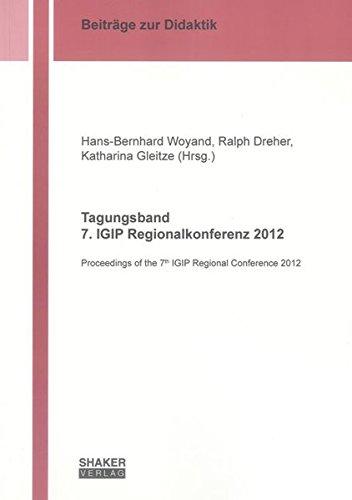 Tagungsband 7. IGIP Regionalkonferenz 2012: Hans-Bernhard Woyand