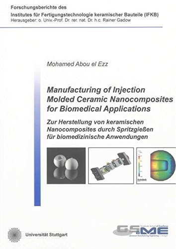 Manufacturing of Injection Molded Ceramic Nanocomposites for Biomedical Applications: Mohamed Abou ...